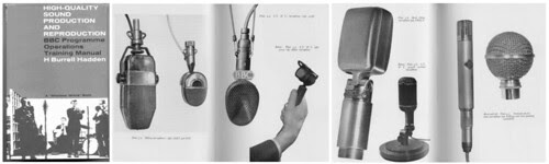 Reslo RB Ribbon Microphone - BBC Training Manual by Reslosound