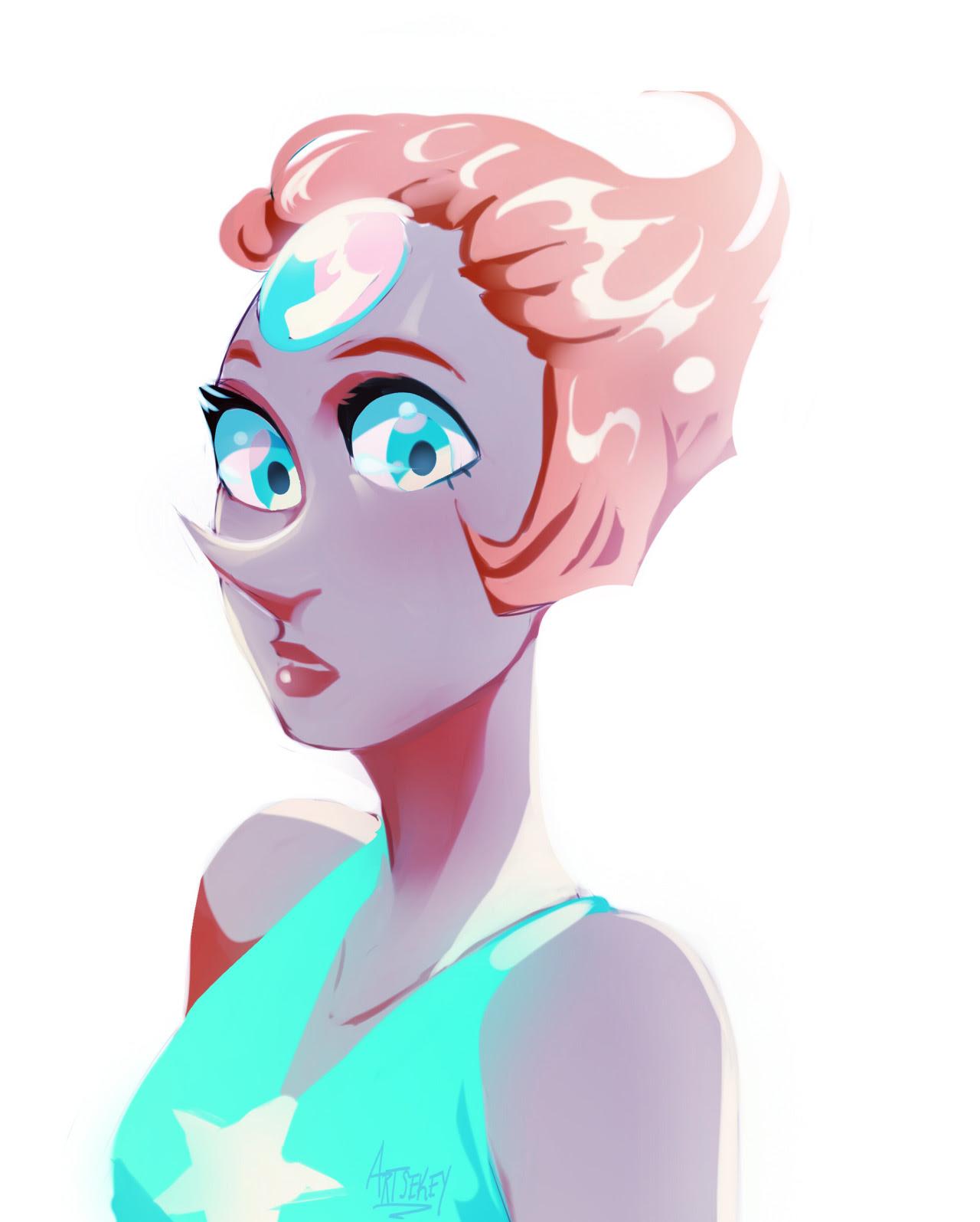 Pearl doodle![Amethyst]
