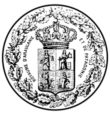 Archivo:Blason du Royaume d'Araucanie et de Patagonie.svg