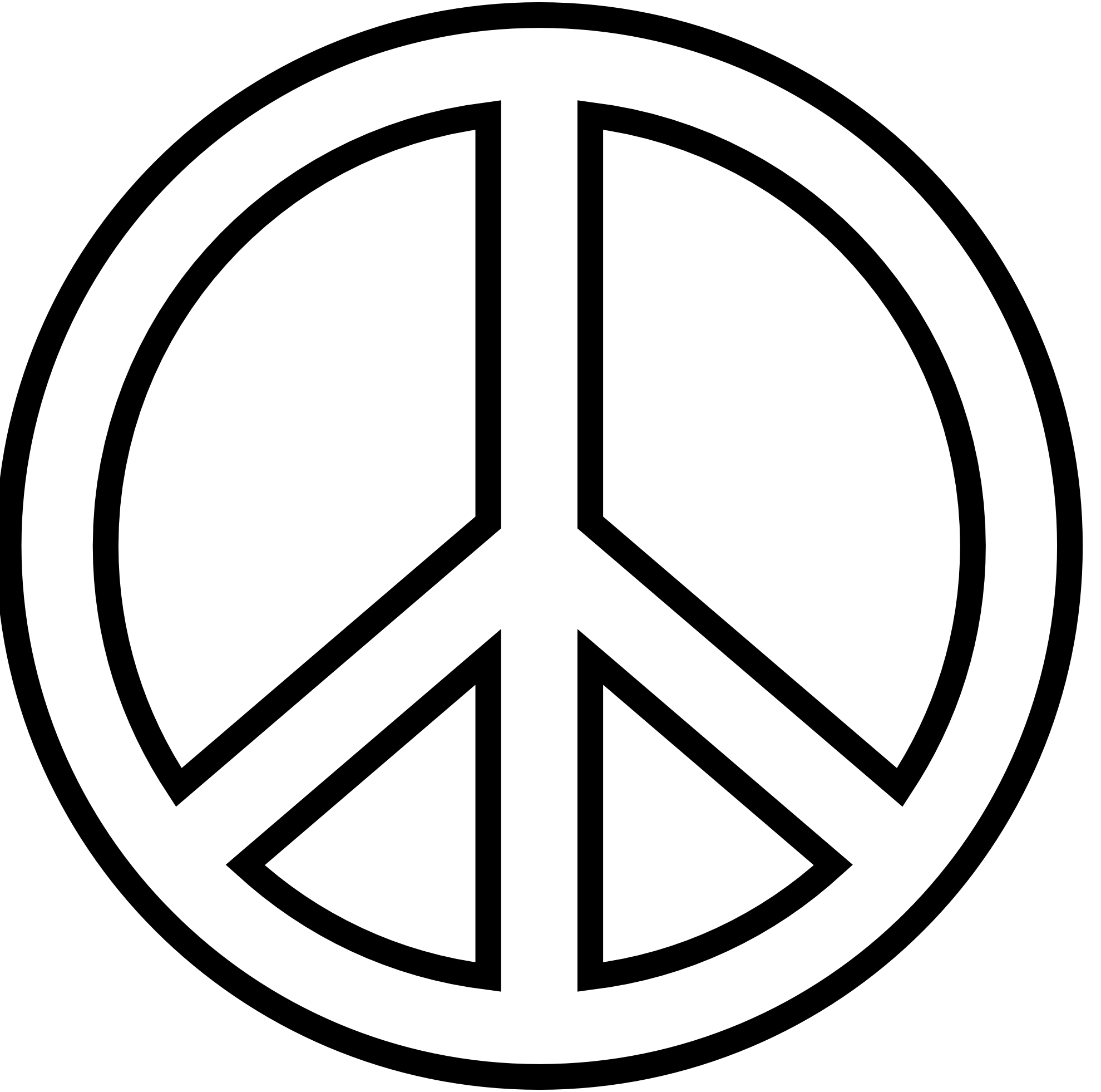 Peace Symbol Png Images Free Download