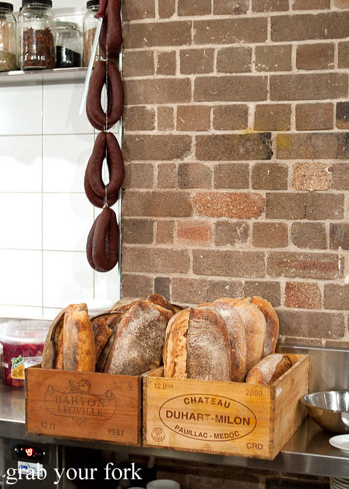 housemade breads at freda's chippendale
