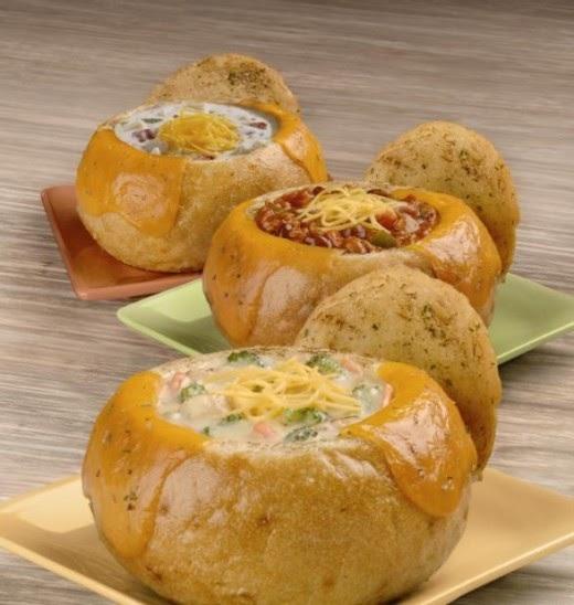 Baked Egg Topping In Bread Bowl: Domino's Pizza Copycat Recipes: Dominos Bread Bowl Pastas