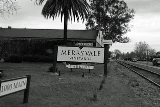 Merryvale - Sign