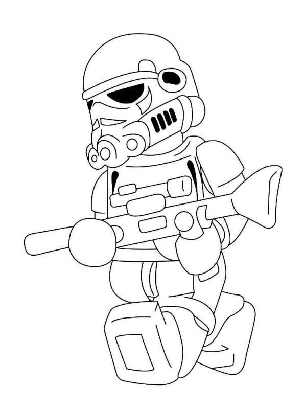 Kids N Fun Co Uk 28 Coloring Pages Of Lego Star Wars
