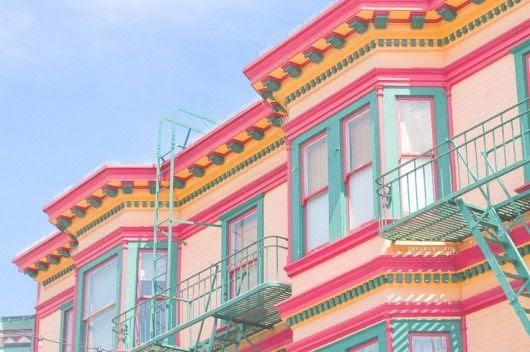 colors of San Francisco