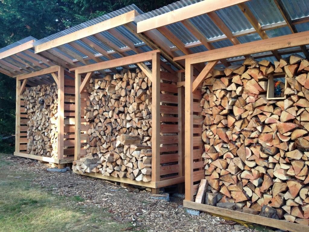 Wood Storage Sheds