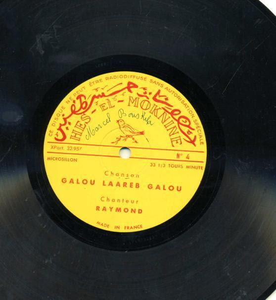 disque de raymond Leyris