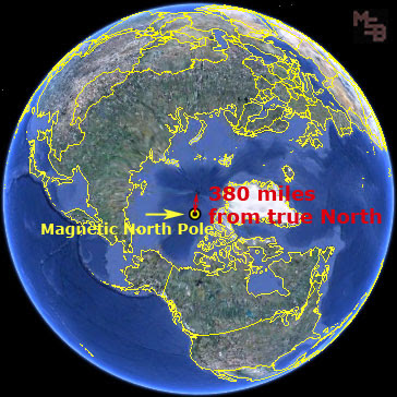 earth-magnetic-north-360-miles-from-true-north-pole