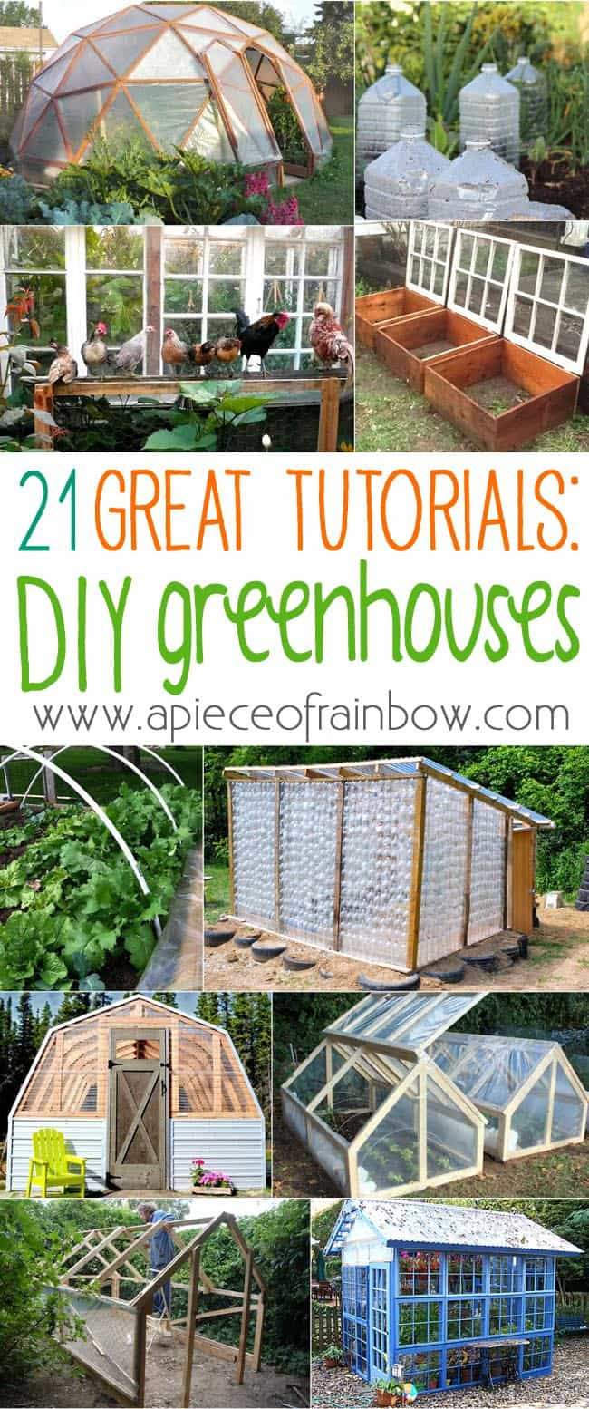 best DIY Greenhouse ideas with free building plans