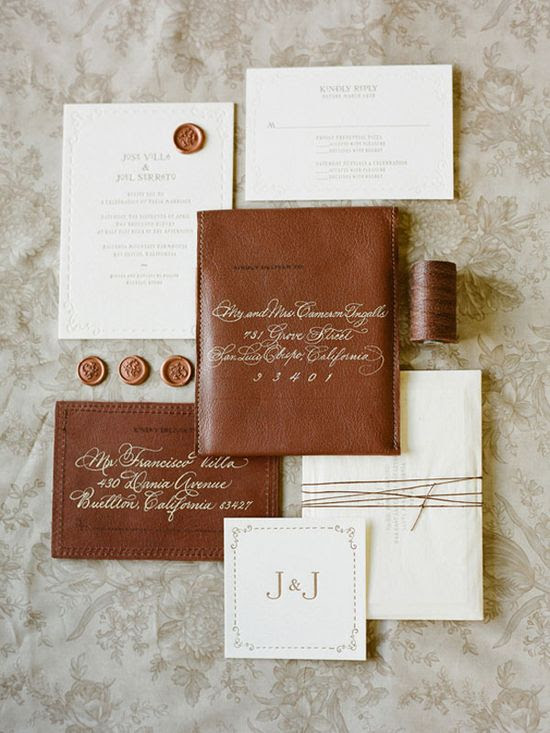 Gorgeous wedding invitation via @Kristen Hopkins Moorehead & Inspired - photo by elizabeth messina www.kissthegroom.com