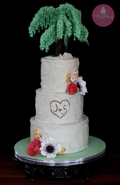 Sugar Willow Tree Tutorial!   McGreevy Cakes