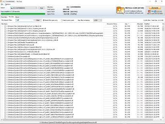 WizTree Топ 1000 крупнейших файлов