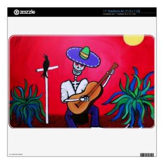 serenata DIA DE LOS MUERTOS SKIN MAC musicskins_skin
