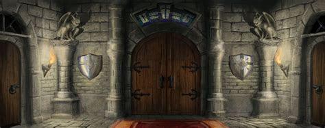 Mysterious Castle, Castle, Game Scene, Poster Banner