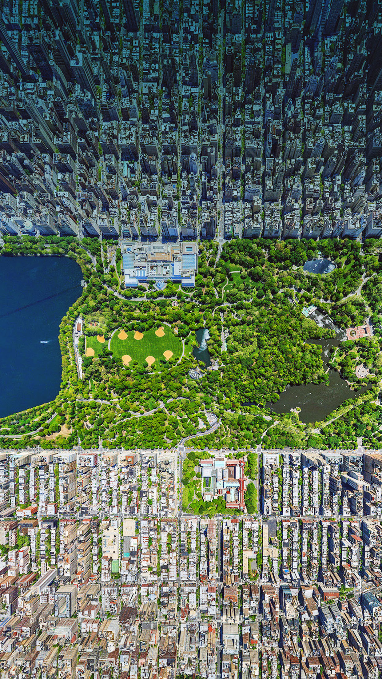 New York Central Park Wallpaper For Iphone X 8 7 6 Free