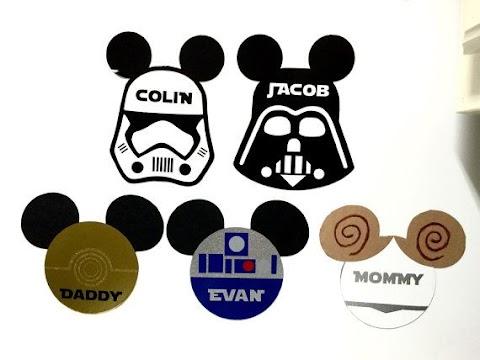 Disney Cruise Star Wars Door Magnet