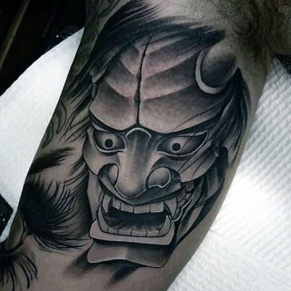 100 Hannya Mask Tattoo Designs For Men Japanese Ink Ideas