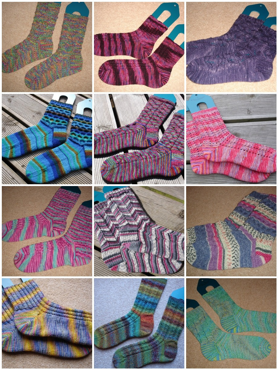 2009 Sock Challenge - done!