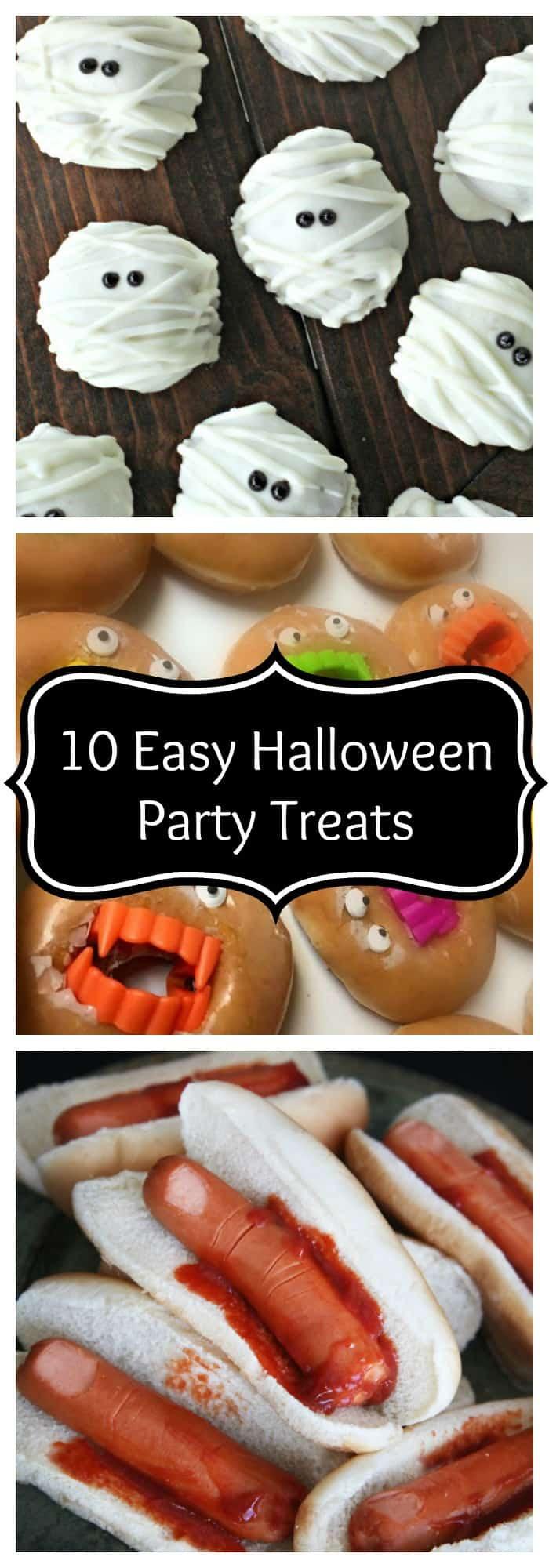 10 Easy Halloween Party Treats - The Organized Mom