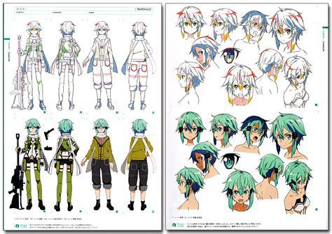 sword art  design works official art book anime books