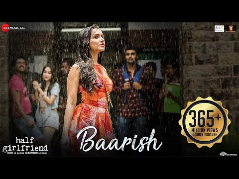 baarish half girlfriend video song download 3gp