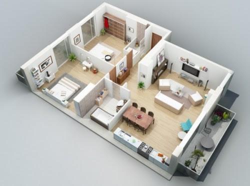 Memilih Denah Rumah Minimalis Modern dengan 3 Kamar Tidur
