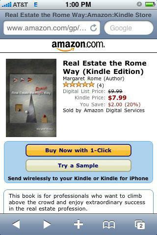 Book on Amazon Kindle