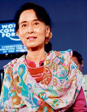 Aung San Suu Kyi has returned as the queen of world media