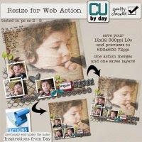 Resize 4 Web Action