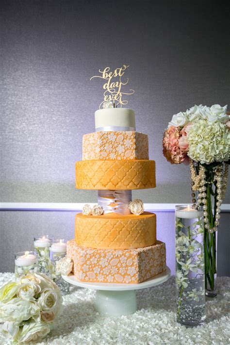 How To Design Your Wedding Cake   Every Last Detail