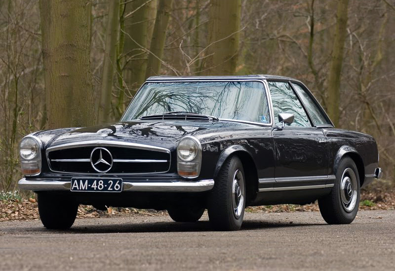 1966 Mercedes-Benz 250SL 2+2 California Coupe (W113 ...