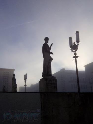 Nevoeiro na Universidade de Coimbra