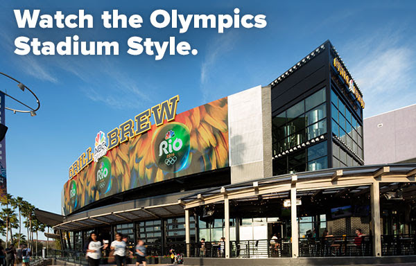 Watch the Olympics Stadium Style.