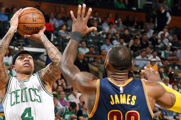808780b4b07 Isaiah Thomas says Boston Celtics  not scared  of Cleveland Cavaliers after  loss in Game 1 of Eastern Conference finals