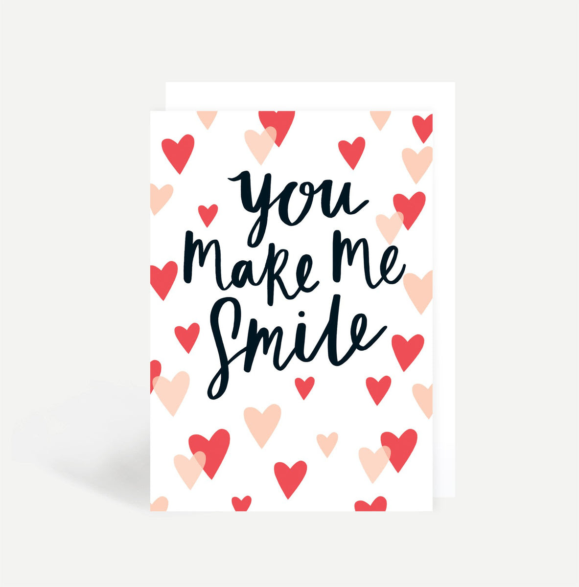 You Make Me Smile Card Sadler Jones