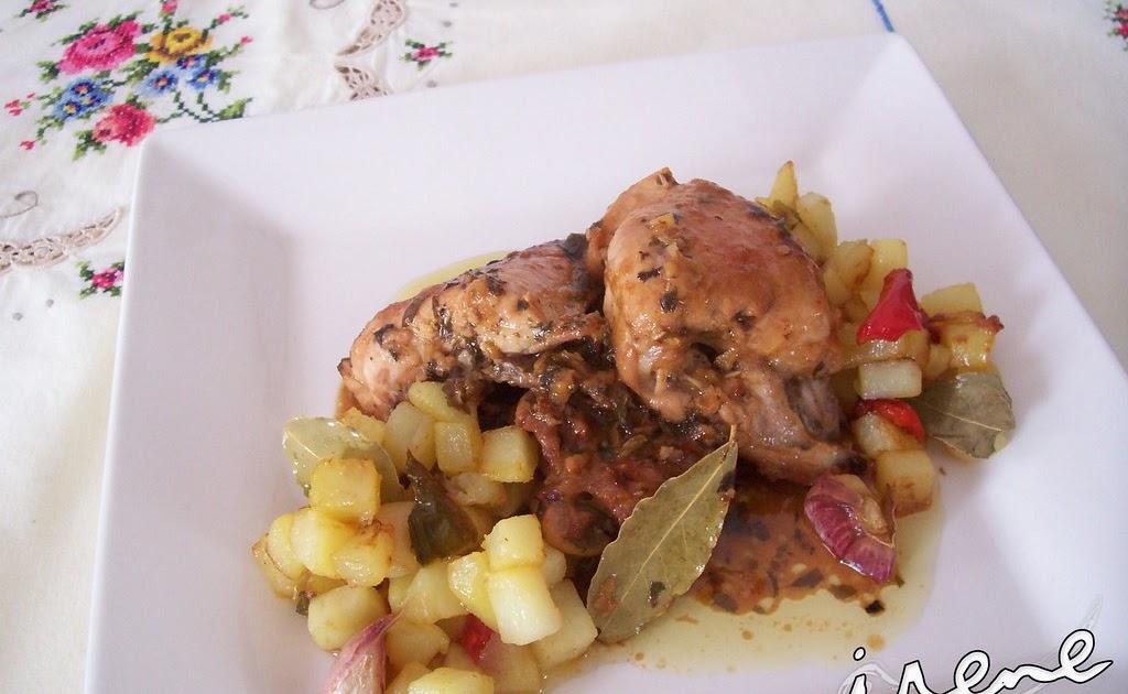 la cocina casera de irene pollo al ajillo