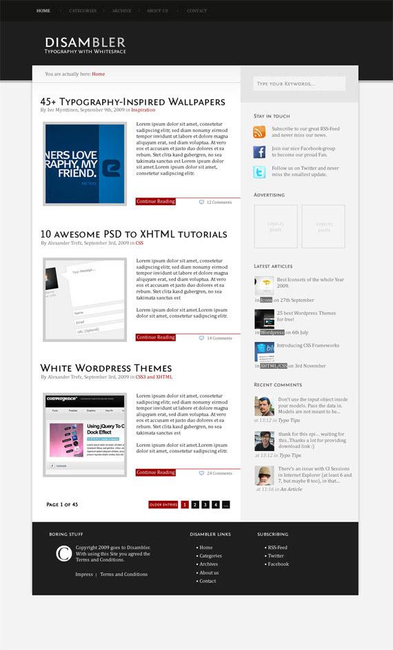Disamblert-theme-inspiration-wordpress-blog-designs