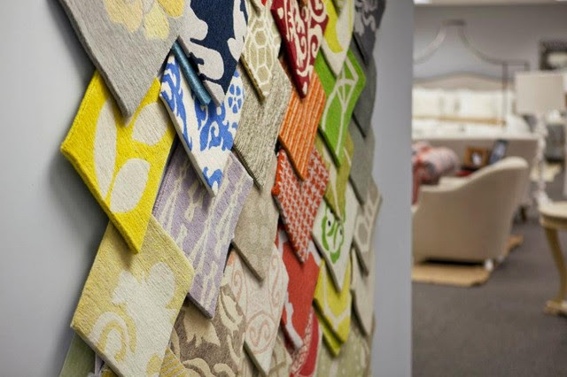 Rug Samples on Display - Transitional - Area Rugs ...
