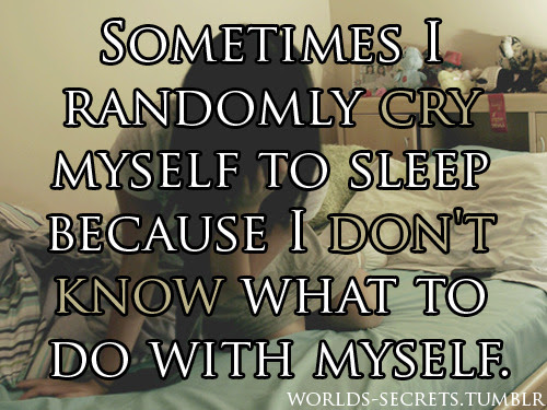 Crying Yourself To Sleep Quotes Crying Yourself To Sleep Quotes