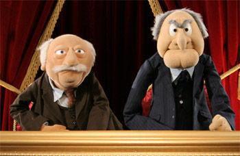 Muppets Statler y Waldorf by hablandodelasunto3
