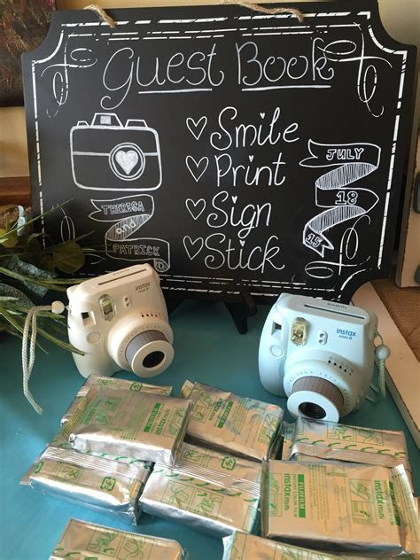 Instant Camera Picture Guestbook   Albany Wedding DJ
