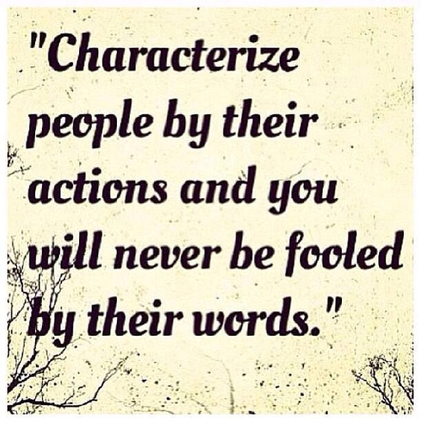 Quotes About Action And Character 108 Quotes