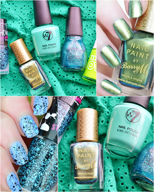 Green Glitter Nail Polish Uk: Top 5 Budget Green Nail Polishes For Summer