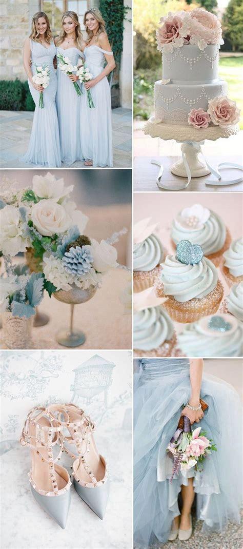 light pastel blue wedding theme ideas 2016   Wedding