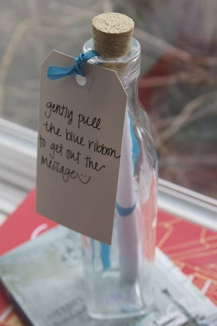 Message in a bottle :)   Random DIY Ideas   Pinterest