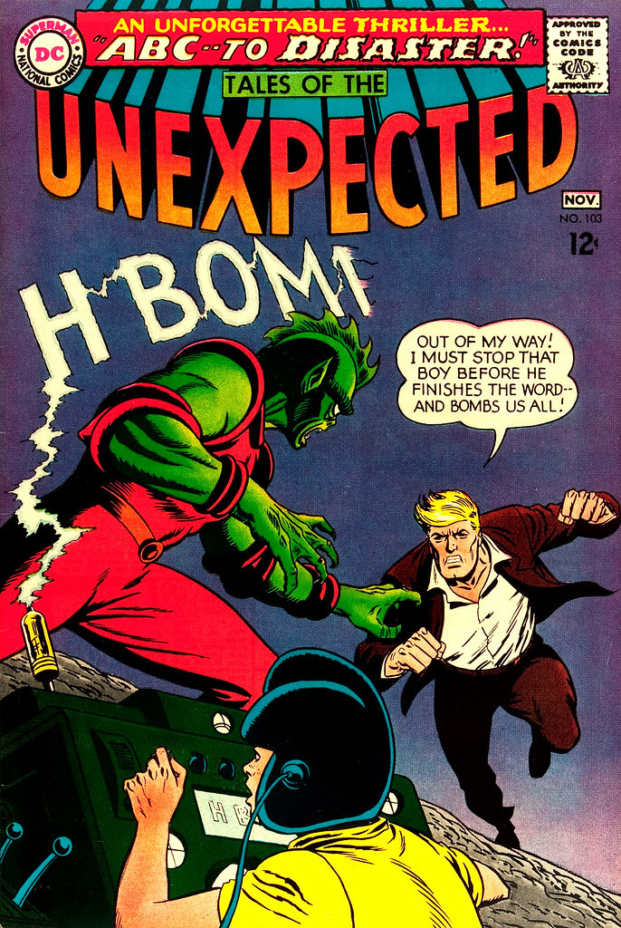Tales of the Unexpected #103 (DC, 1967) Bob Brown cover.