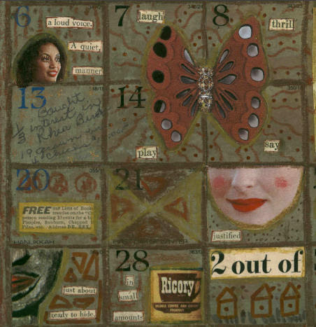 Altered Calendar (detail)