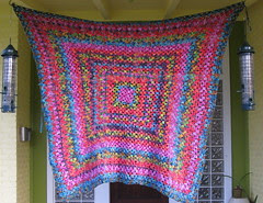 Flapjack throw, Colinette prism