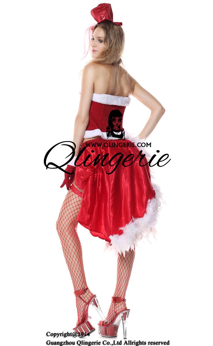 fever santa baby burlesque costume xt6351
