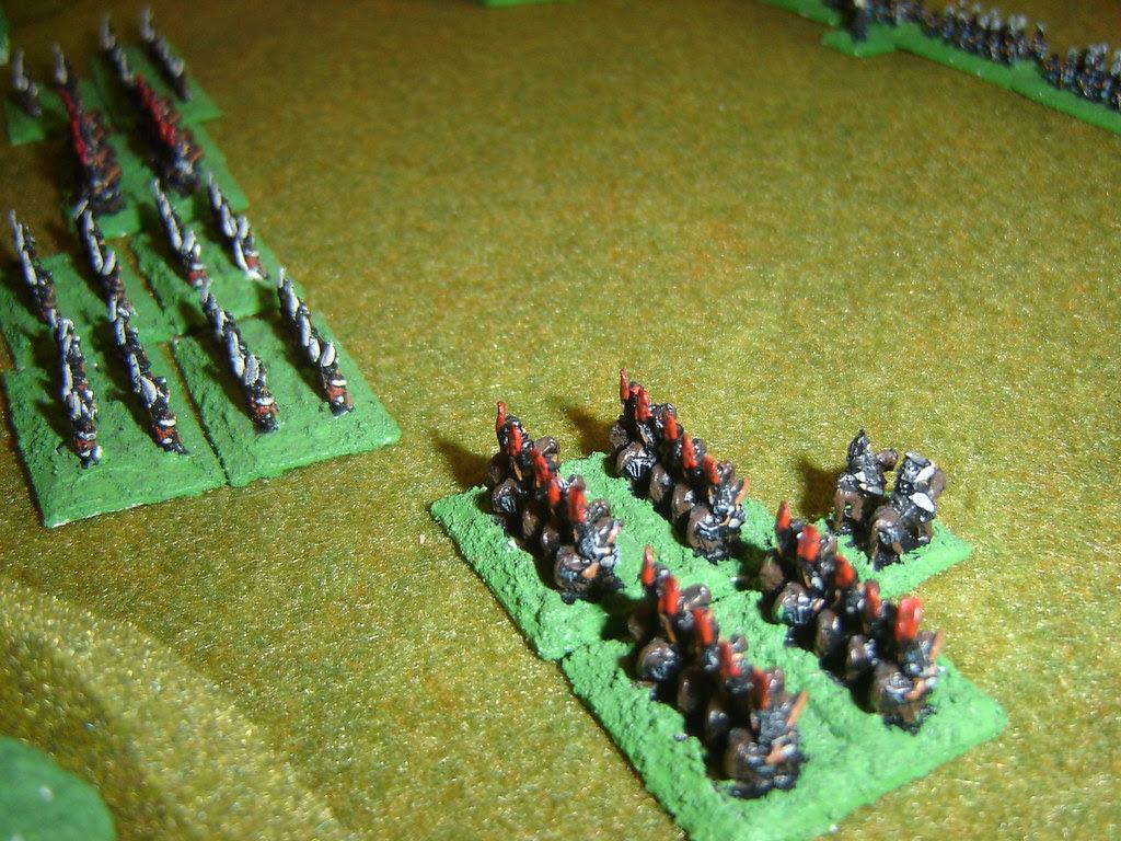 Mori cavalry prepare to charge